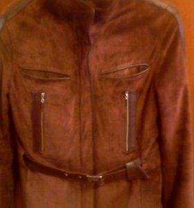 Куртка замшевая.