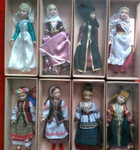Куклы в национальных костюмах диагостини