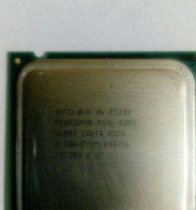 Процессор Intel pentium E5200 dual core s775
