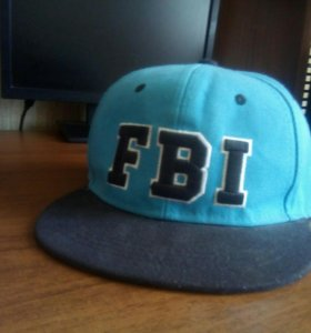 """кепка с большим козырьком """"FBI"""""""