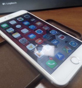 Apple iPhone 6s Plus + 128 silver