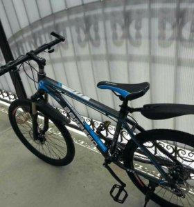 Алюминиевый горный велосипед.новый