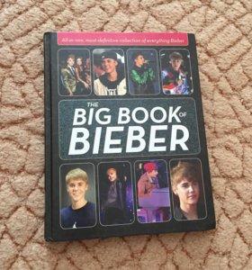 """Книга """"Big book of Bieber"""""""
