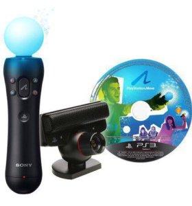 Контроллер+камера+диск для PS3
