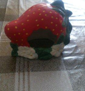 Декоративный домик для хомячков