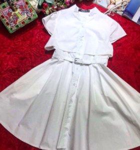 Белоснежное платьице