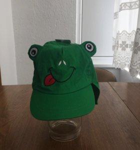 Новая кепка 3-6лет