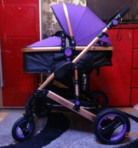 Новая коляска транспортер belecoo