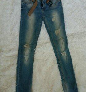 Подростковые женские джинсы для девушек