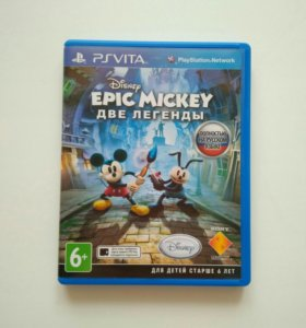 Игра Epic Mickey две легенды для Playstation Vita