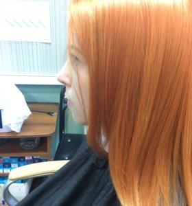 Кератиновое ВЫПРИМЛЕНИЕ +Оздоровления волос