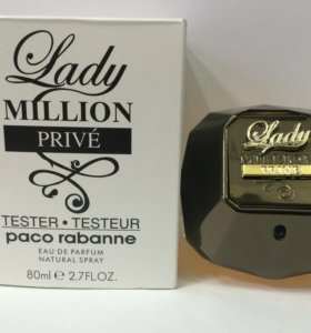 "Тестер Paco Rabanne ""Lady Million Prive"", 80 ml"