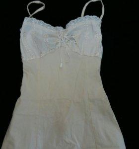 Подростковое женское платье сарафан кружевное