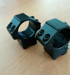 Кольца для оптического прицела 25.4мм