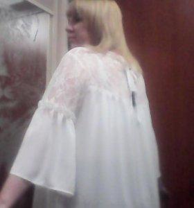 Блуза новая 52-54р