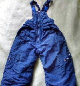 Зимние балоневые штаны
