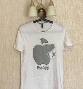 Фирменная итальянская футболка мужская