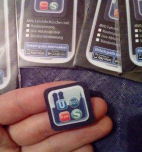 Салфетка на телефон
