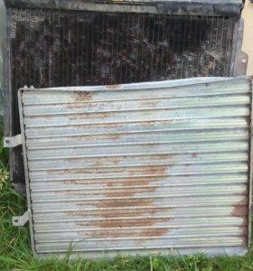 Радиатор от газона