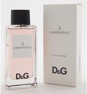 "Тестер Dolce and Gabbana ""№3 L'Imperatrice"", 100 ml"