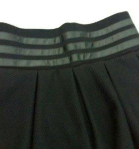 Школьная юбка для девушек с завышенной талией