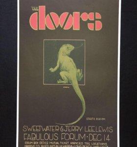 The Doors коллекционный постер худ-к Bob Masse LA