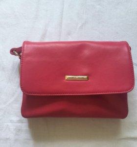 Новая розовая сумка