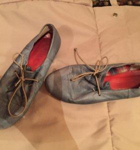 Ботинки 37 размер кожа
