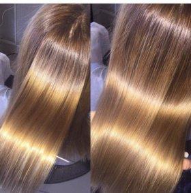 Обучение процедурам по восстановлению волос