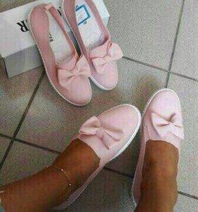 Новые балетки 38 размер