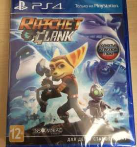 Игра Ratchet Clank PlayStation 4 (PS4)