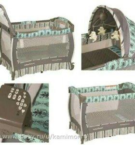 Манеж-кроватка Baby Trend Deluxe