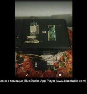 Продам HP deskjet F2483, видюху 128 mb, сетевую ка