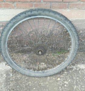 Задние колесо на велосипед с 6-ю передачами