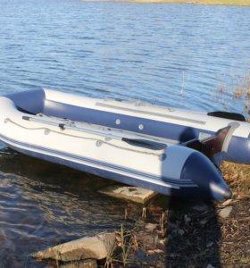 Лодочный мотор +лодка