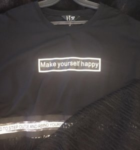 Очень крутая футболка-туника
