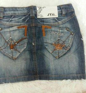 Мини юбка джинсовая для девушек