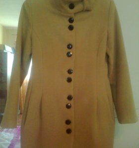 Продам драповое пальто (44-46р) в идеале!