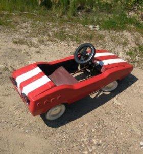 Педальная машина Радуга СССР Ретро