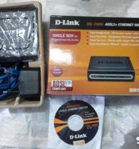 Модем D-link DSL-2500U adsl2+ ethernet router