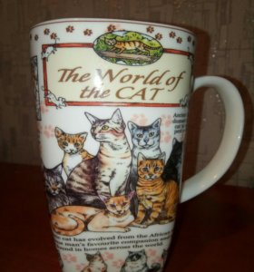 """Кружка """"The World of the Cat""""."""