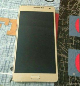 Samsung A7 2015 gold
