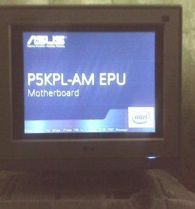 Монитор LG F730P 17 дюймов ЭЛТ