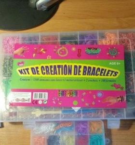 Набор резинок для плетения+подарок