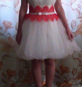Выпускное платье пышное