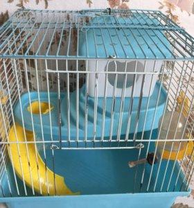 2х этажная клетка для грызунов
