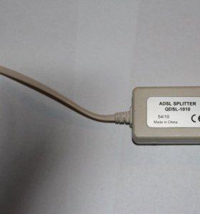 ADSL-splitter на 2 порта
