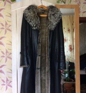 Дублёнка ( кожаное пальто)