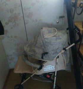 Новая коляска трость