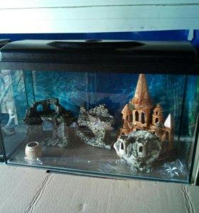 Новый аквариум 84 литра и другие.